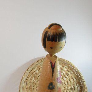 Beauty Japanese kokeshi doll/ kokeshi doll/ set ko